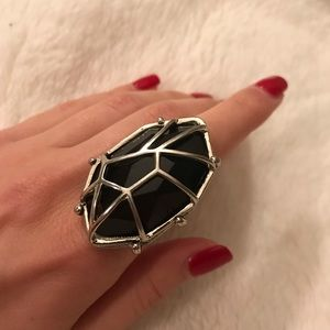 Jewelry - Caged cocktail ring